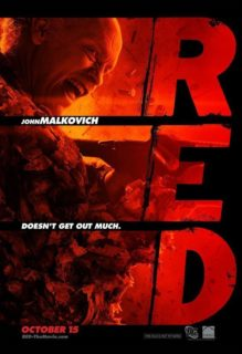 Red Poster Malkovich