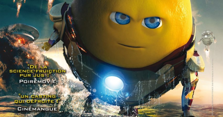Affiche du comic movie Citron Man
